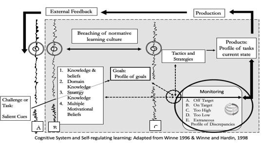 Experiential Learning Theory within the IIAF: Adapted from Jarvis (1999) and Marcia (1966)