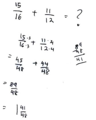 Figure 2. Worksheet of S2's computation        method