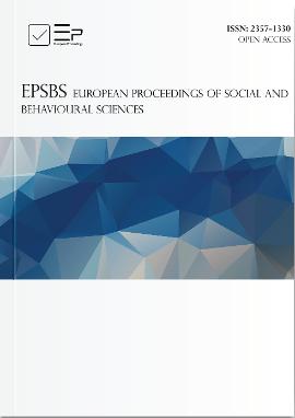 European Proceedings of Social and Behavioural Sciences